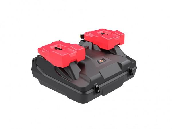 Heckkoffer für Quadix Buggy inkl. 2 x 7,5 Liter Kanister inkl. Halterung