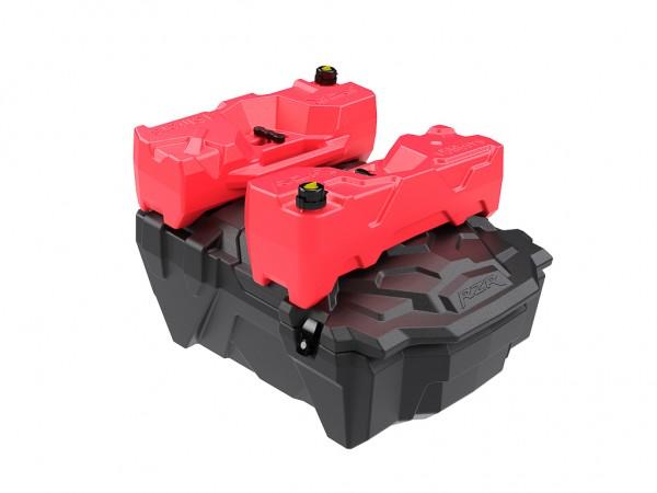 ATV Box für Polaris RZR 1000 inkl. 2 x 15 Liter Kanister